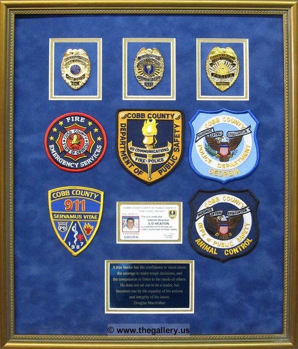 Cobb County Official Custom Framer